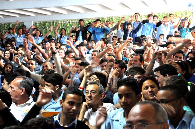 A teatro lleno se realizó la clausura de la Copa FOTO/Rafael Martínez Arias