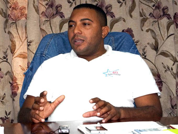 Esmel Seyera Cedeño, director general de la Empresa de Acopio en Granma FOTO/Luis C. Palacios Leyva