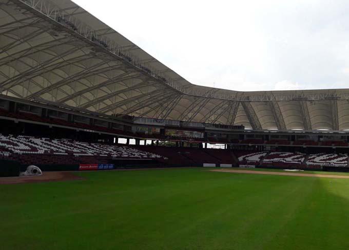 Estadio Tomateros / Foto Tomada del sitio web del evento