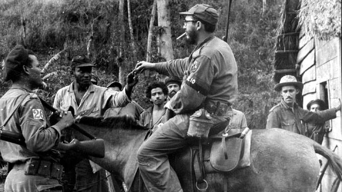 Fidel en la Sierra