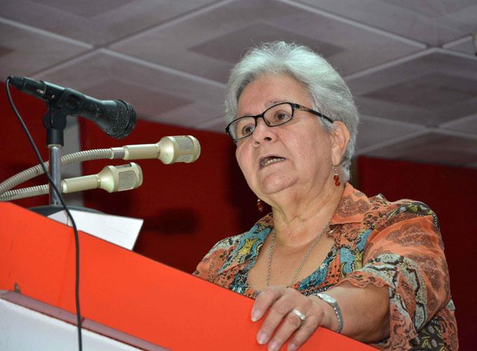 CUBA-GRANMA DIALOGA GLADYS BEJERANO CON DIRIGENTES DE LA PROVINCIA