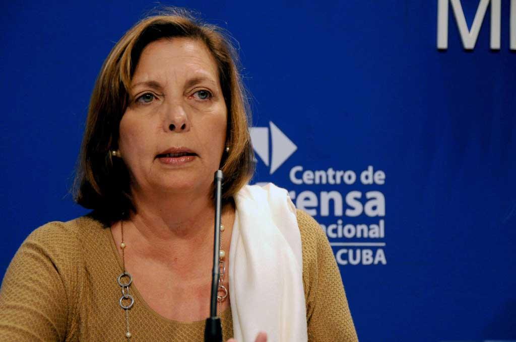Josefina Vidal: Se elimina un detonante de crisis migratoria entre Cuba y EEUU