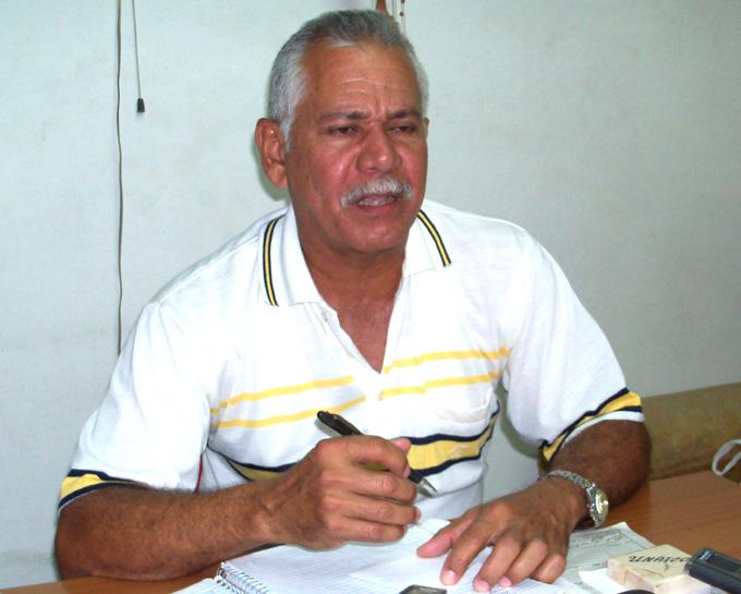 Juan Alberto Porras León, presidente de la Unaicc en Granma FOTO/Orlando Fombellida Claro