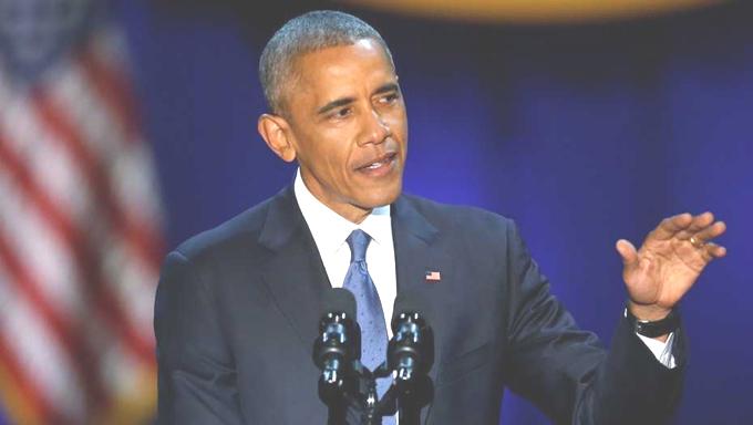 Obama se despide como presidente de los estadounidenses
