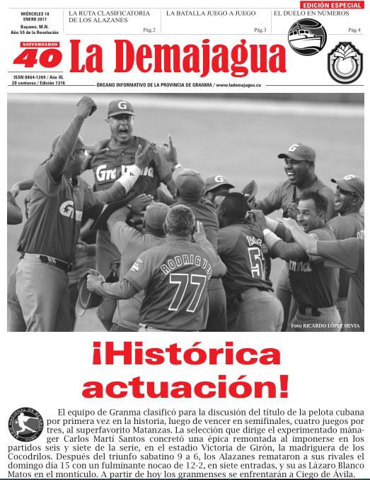 Circula edición especial de La Demajagua (+ PDF)