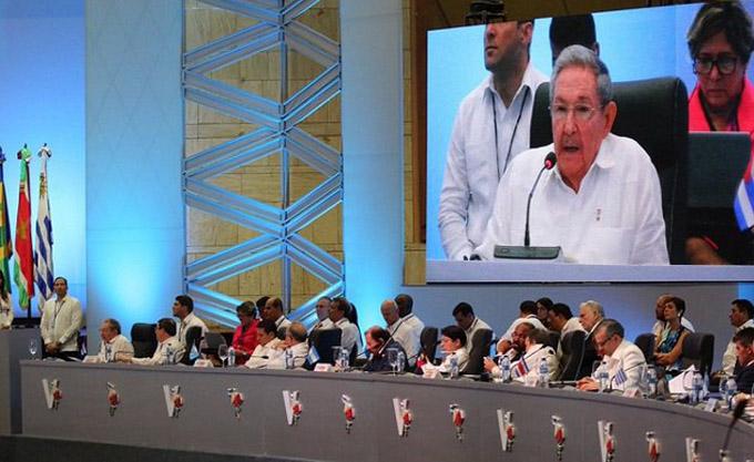 Discurso pronunciado por Raúl en la V Cumbre de la Celac