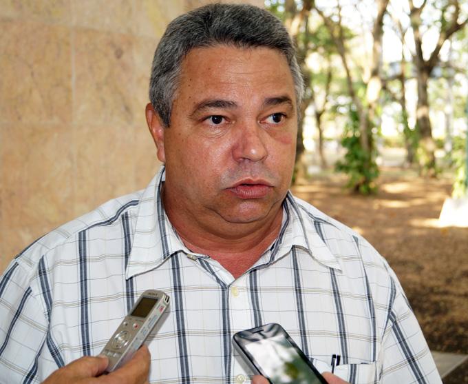 Ulises Guilarte de Nacimiento, secretario general  de la Central de Trabajadores de Cuba FOTO/Luis C. Palacios Leyva
