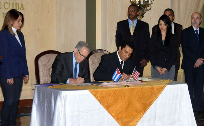 Cuba y EE.UU fortalecen cooperación antiderrame de hidrocarburos