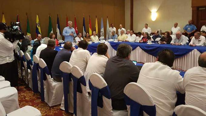 Managua acoge espacio de concertación de izquierda latinoamericana