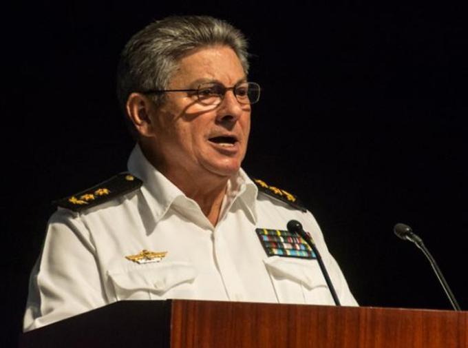 Designan como Ministro del Interior al Vicealmirante Julio César Gandarilla