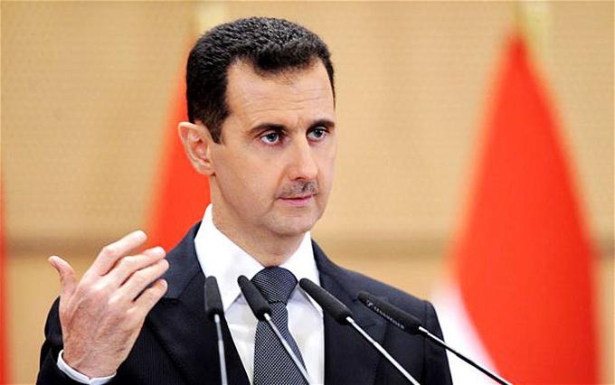 Presidente sirio dispuesto a negociar para lograr fin del conflicto