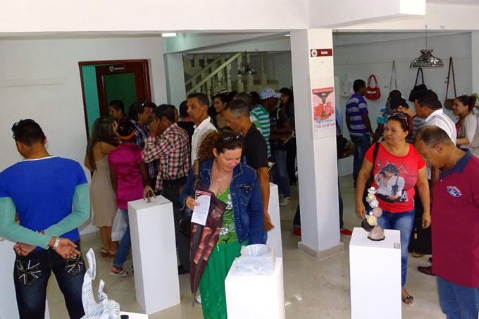 En la expo destacan los trabajos con el mármolFOTO/Luis Carlos Palacios