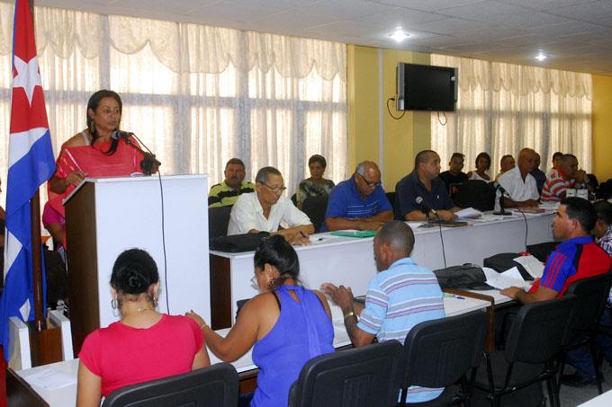 Sesionó Pleno de la ANAP en Granma