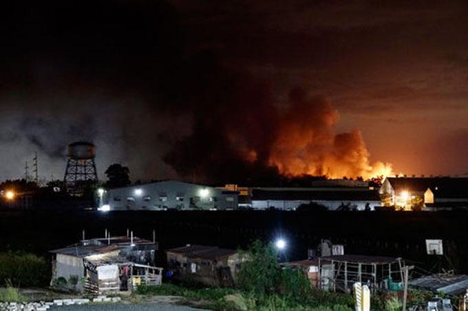 Incendio en fábrica filipina causa más de cien heridos