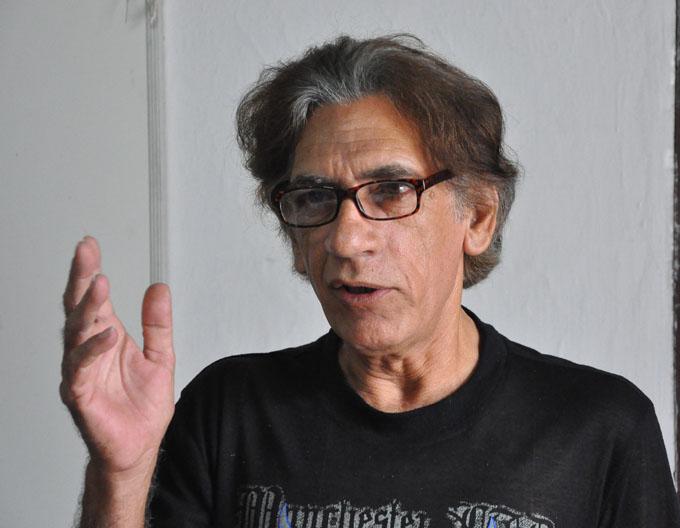 Norberto Reyes Blázquez, bautizado como el Moliére tropical, fundador, actor y actual director/ FOTO Rafael Martínez Arias
