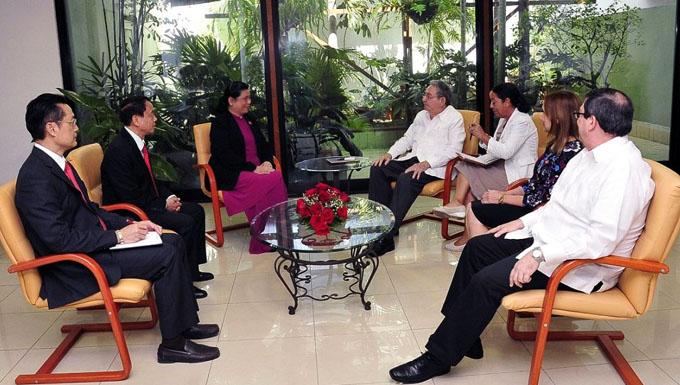 Recibió Raúl a personalidad de la Asamblea Nacional de Vietnam
