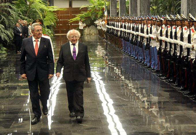 Presidente de Irlanda asistirá a Feria del Libro de La Habana