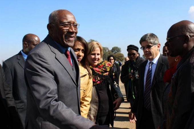 En Sudáfrica Valdés Mesa para participar en juramentación presidencial de Cyril Ramaphosa