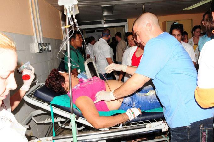 Seis muertos y unos 50 lesionados en accidente ferroviario en Sancti Spíritus (+fotos)