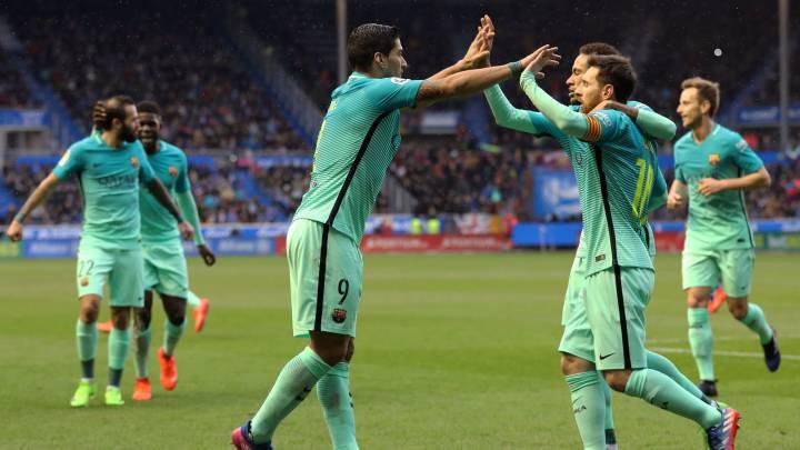 El Barça vuelve a intimidar