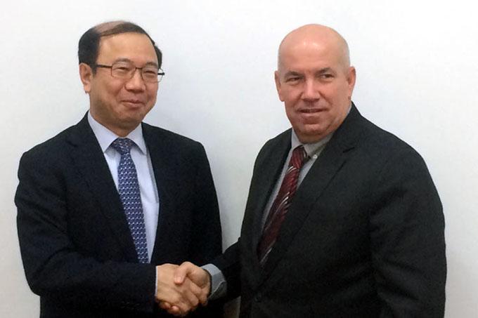 Viceministros de Cuba y China valoran cooperación en construcción