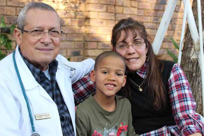Médicos cubanos en Sudáfrica: Papito, una historia de amor
