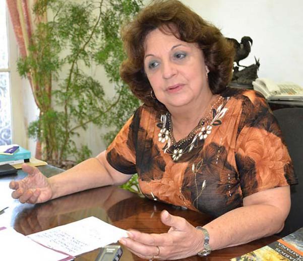directora del Centro de Estudios Martianos