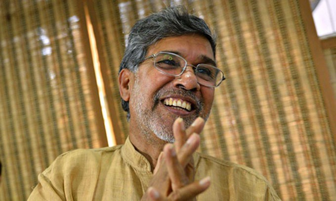Indian activist Kailash Satyarthi