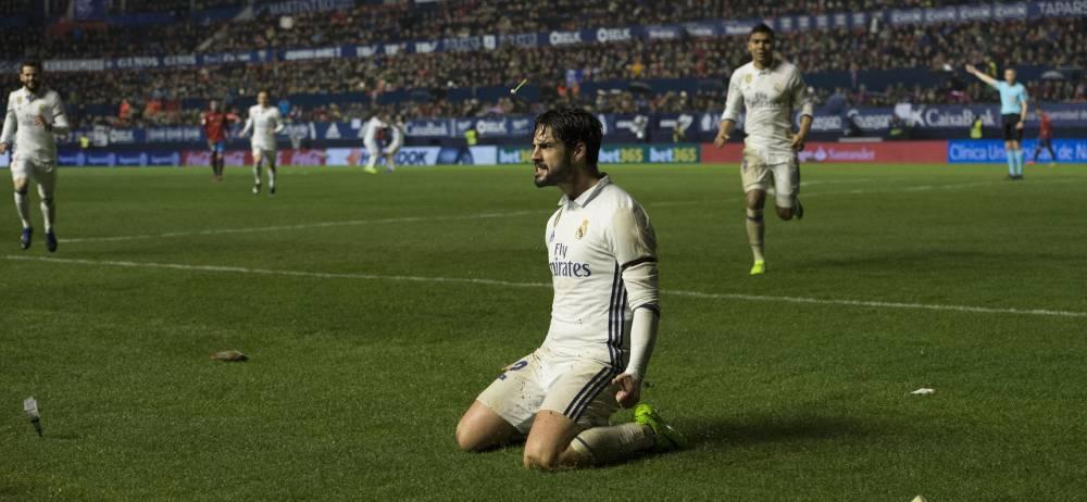 El Madrid pasó el trago