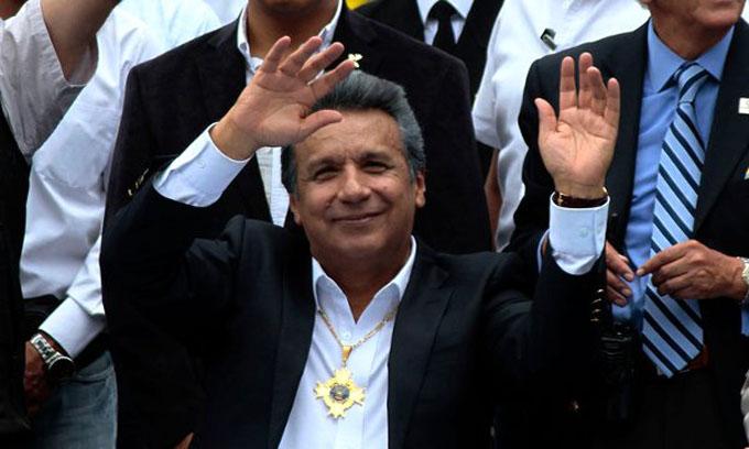 Moreno muy cerca de ganar presidencia de Ecuador en primera vuelta