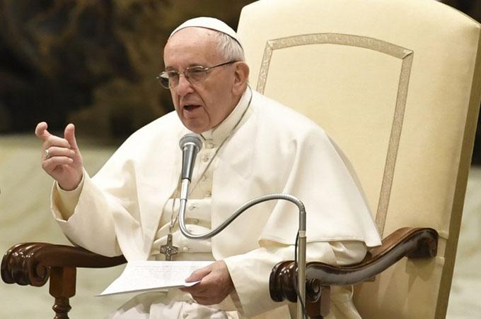 Papa Francisco reitera rechazo a la pedofilia