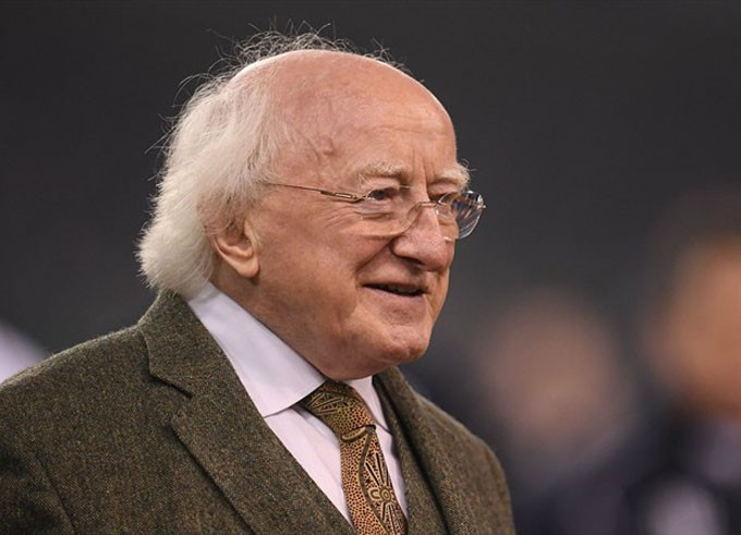 presidente irlandés