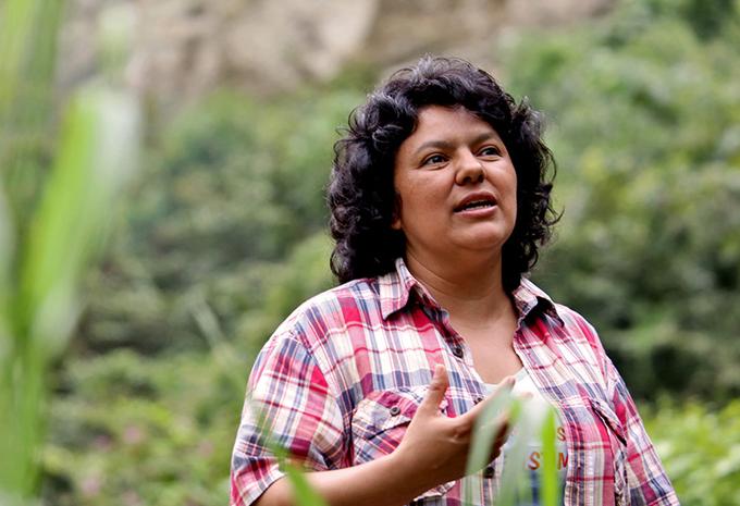 Reclaman en Honduras investigación sobre crimen de Berta Cáceres