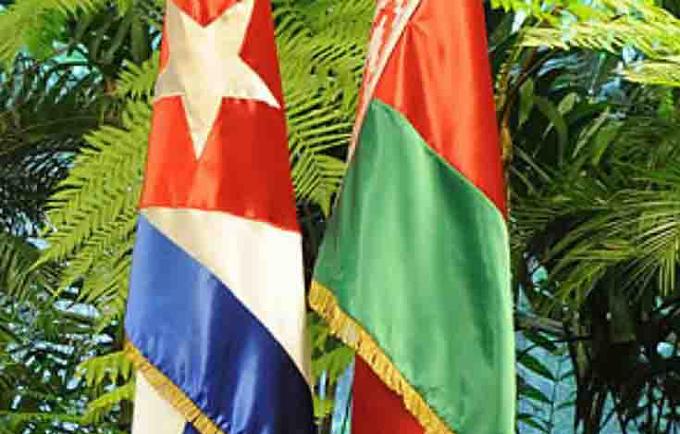 Belarús y Cuba abordan perspectivas de la cooperación bilateral