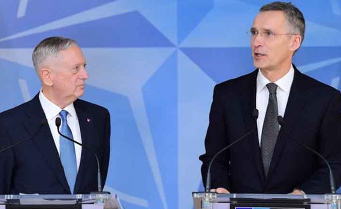 Jefe de la OTAN dialogará con secretario norteamericano de Defensa