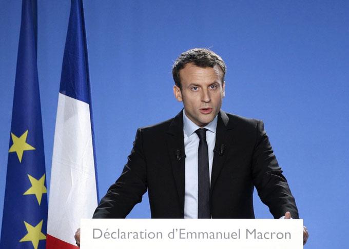 Candidato centrista mantiene liderazgo hacia elecciones en Francia
