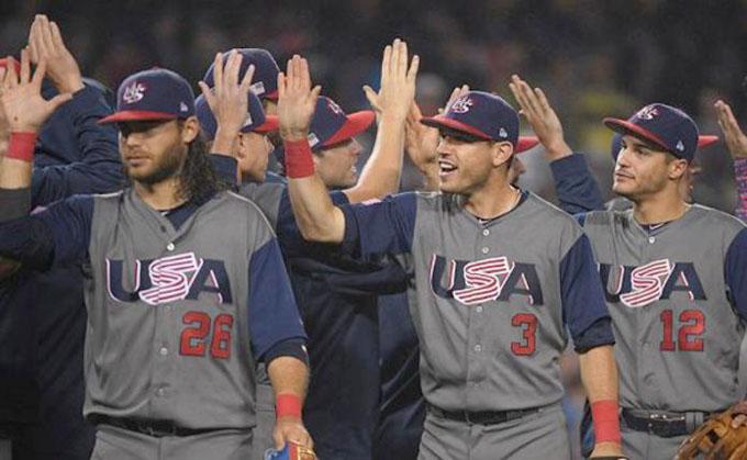 Estados Unidos en la final del IV Clásico Mundial de Béisbol