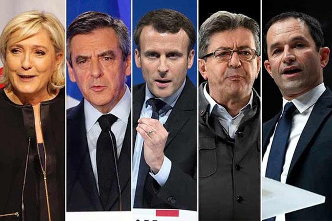 Elecciones en Francia: candidatos comparecen en el primer debate