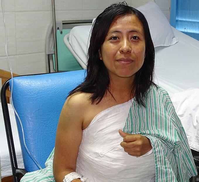 Evolucionan satisfactoriamente lesionados de accidente del tránsito en Bayamo