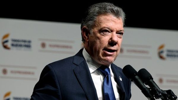 Presidente Santos planea estrechar lazos comerciales con Cuba