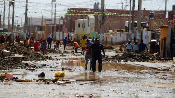 Perú abre cuenta en Banco de China para afectados por lluvias