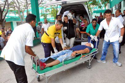 Un muerto y nueve lesionados en accidente de tránsito entre Granma y Santiago de Cuba (+ información y fotos)