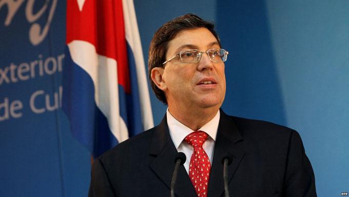 Ministro de Relaciones Exteriores de Cuba visita Grecia
