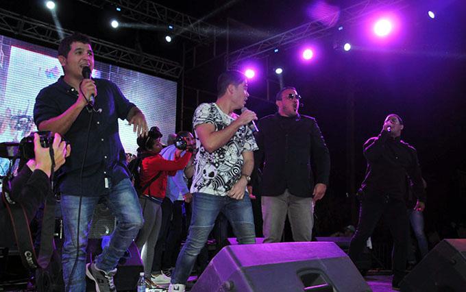 Mucha energía anuncian para esta noche Moncada, Buena Fe y Casabe (+ fotos y video)