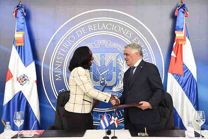 República Dominicana y Cuba formalizan diálogo para negociar acuerdo