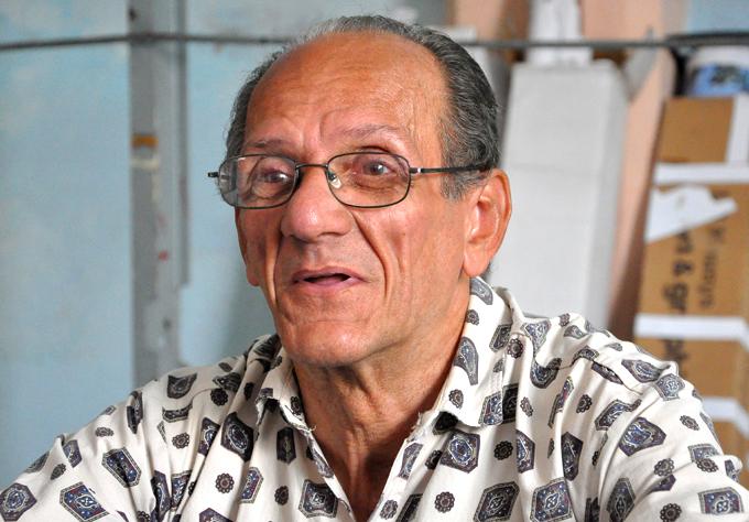 Ramón Coronado, pintor muralista autodidacta