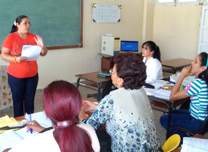 Consolidada escuela pedagógica Rubén Bravo Álvarez,  de Bayamo