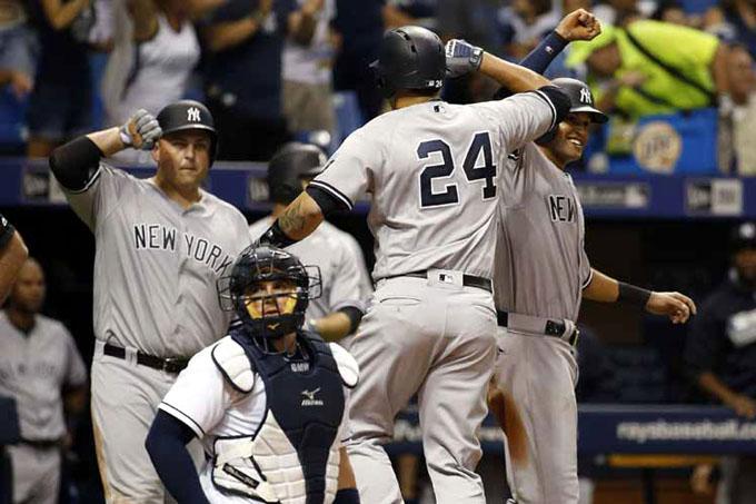 Yankees por desbancar a Orioles de la cima del béisbol estadounidense