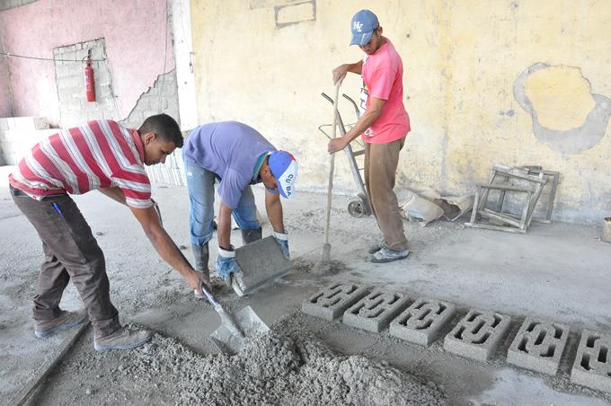 Avanza programa local de la Construcción