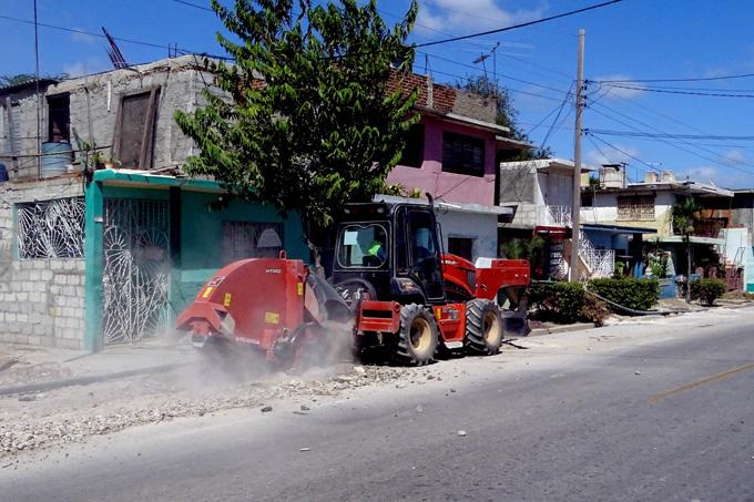 Modernizan redes de acueducto en la zona norte de Bayamo (+ fotos)